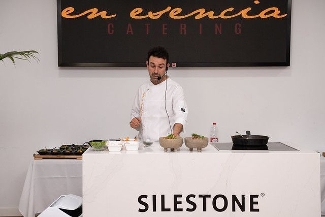 show cooking de en esencia catering